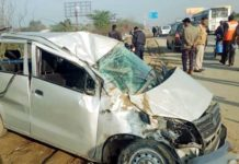 accident in yamuna expressway